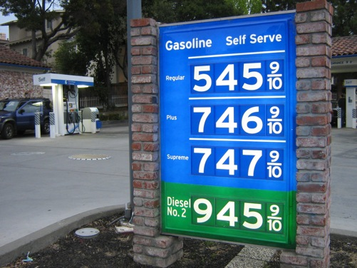 Fuel, fuel everywhere, but too expensive to drink