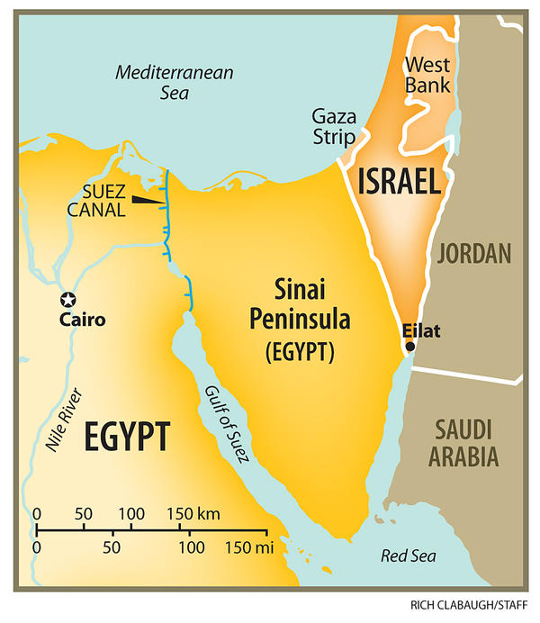 Former Head Of Israels National Security Council NSC Israel - Map of egypt israel