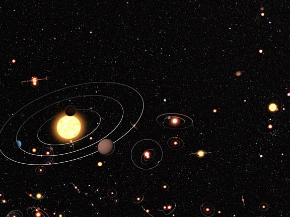 how many planets in our galaxy - photo #40