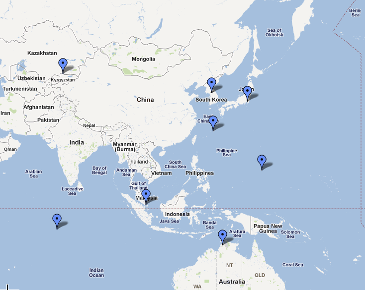 MINA Breaking News China Targeting US Military Installations In - Map Of All Us Military Bases In The World